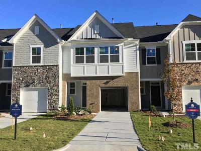 Apex Townhouse For Sale: 1123 Little Gem Lane #366