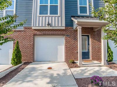 Cary Townhouse For Sale: 4114 Sykes Street