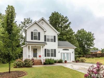 Creedmoor Single Family Home Contingent: 318 Williamsburg Drive