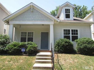 Pittsboro Single Family Home Contingent: 467 Millbrook Drive