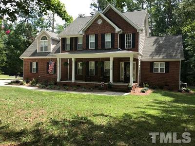 Wake County Single Family Home Contingent: 6109 Quail Side Court