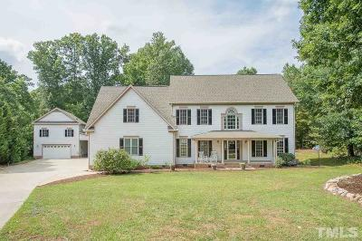 Apex Single Family Home For Sale: 3233 Summer Oaks Drive