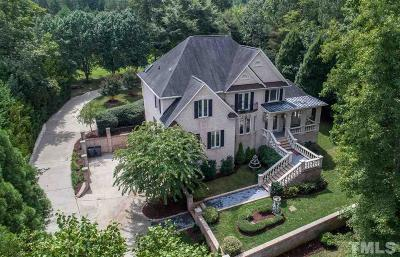 Raleigh Single Family Home Contingent: 1008 Oak Creek Road