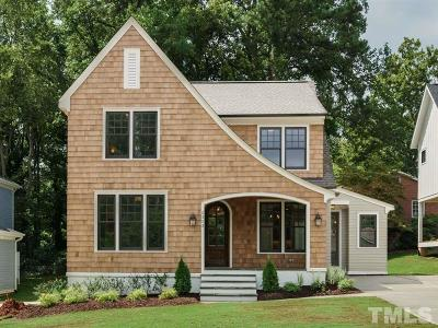Raleigh Single Family Home For Sale: 2353 Lowden Street
