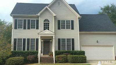 Apex Single Family Home For Sale: 1607 Patterson Grove Road