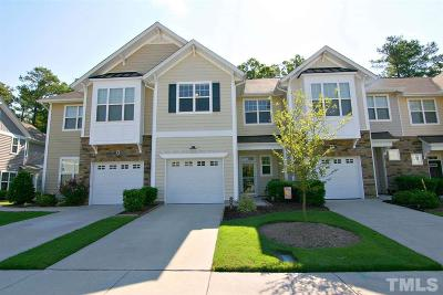 Morrisville Townhouse Pending: 503 Suffolk Green Lane