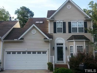 Cary Townhouse For Sale: 406 Tresa Brook Court