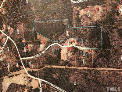 Chatham County Residential Lots & Land For Sale: J C Corner Road