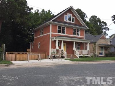 Durham Single Family Home For Sale: 605 Mallard Avenue