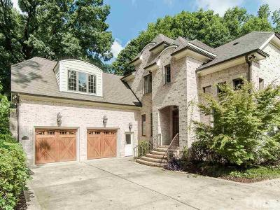 Raleigh Single Family Home For Sale: 3402 Lake Boone Trail