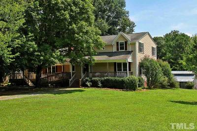 Pittsboro Single Family Home For Sale: 1908 River Road