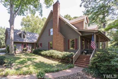 Apex Single Family Home Pending: 1412 Olive Chapel Road