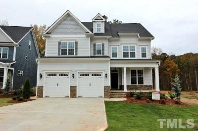 Holly Springs Single Family Home For Sale: 2800 Mills Lake Wynd