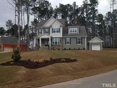 Johnston County Single Family Home Pending: 437 Rockport Drive