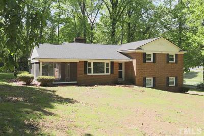 Siler City Single Family Home For Sale: 519 W Park Drive