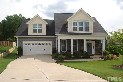 Holly Springs Single Family Home For Sale: 6308 Faucon Court