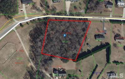 Johnston County Residential Lots & Land For Sale: Old Evans Road