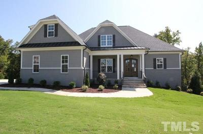 Raleigh Single Family Home For Sale: 5236 Burcliff Place
