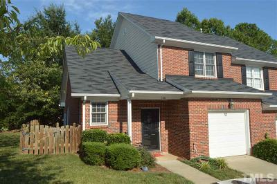 Holly Springs Townhouse Contingent: 100 Tuska Hills Drive