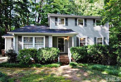Cary Single Family Home Contingent: 931 Manchester Drive