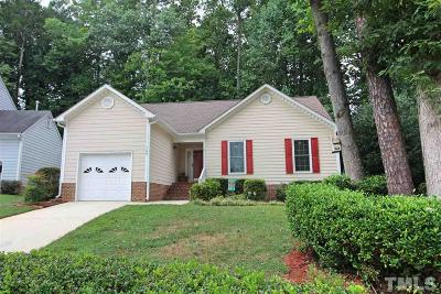 Cary Single Family Home For Sale: 120 Tapestry Terrace