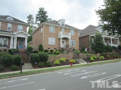Apex Single Family Home For Sale: 1217 Town Side Drive