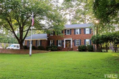 Raleigh Single Family Home For Sale: 6701 Woodmere Drive