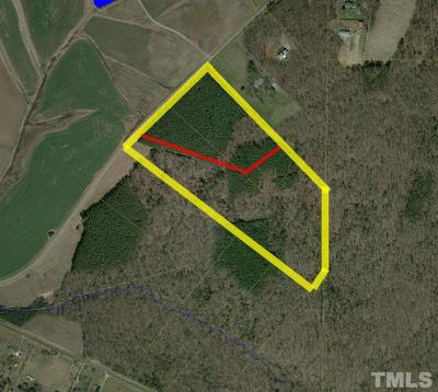 Durham County Residential Lots & Land For Sale: 10100 S Lowell Road