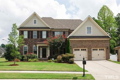 Apex Single Family Home For Sale: 137 Restonwood Drive