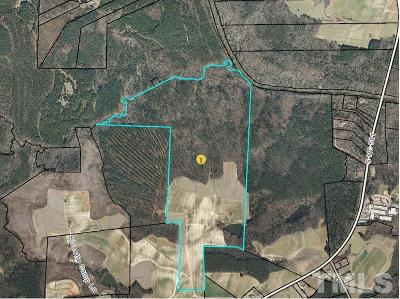 Spring Hope Residential Lots & Land For Sale: OFF Nc 581 Highway