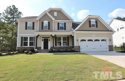 Holly Springs Single Family Home For Sale: 216 Logans Manor Drive