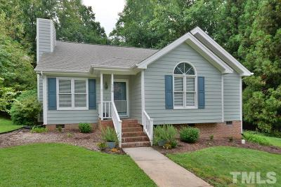 Cary Single Family Home Contingent: 114 Beech Forest Court