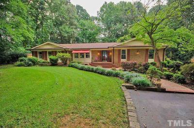 Mebane Single Family Home For Sale: 1730 Foxhall Lane