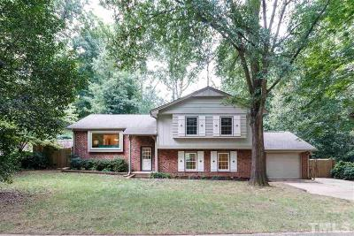 Raleigh Single Family Home Contingent: 908 Thoreau Drive