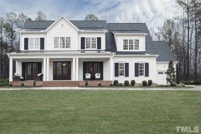 Wake Forest Single Family Home For Sale: 7012 Hasentree Way