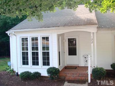 Cary Townhouse Contingent: 122 Planetree Lane