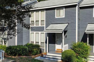 Cary Townhouse For Sale: 120 Joanne Circle