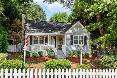 Raleigh Single Family Home For Sale: 403 Pershing Road