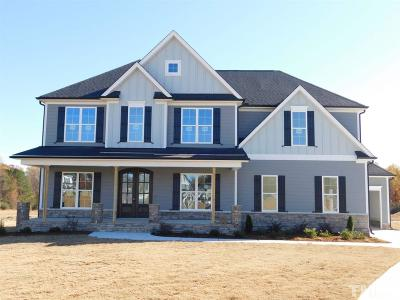 Fuquay Varina Single Family Home For Sale: 3904 Brenton Glen Court #Lot 13
