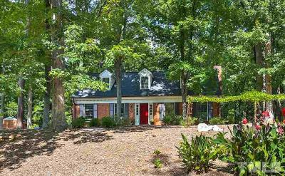 Chapel Hill Single Family Home For Sale: 1128 Sourwood Drive