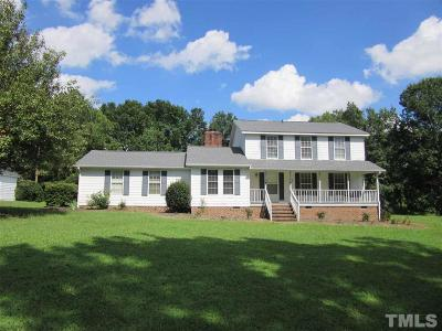 Zebulon Single Family Home For Sale: 9668 Covered Bridge Road