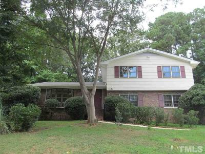 Cary Single Family Home For Sale: 1144 Sturdivant Drive