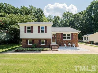 Cary Single Family Home Contingent: 211 Trillingham Lane