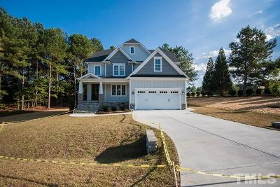 Holly Springs Single Family Home For Sale: 6704 Fawn Hoof Trail