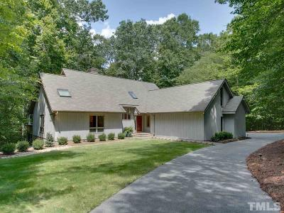 Durham Single Family Home For Sale: 5911 Treetop Ridge