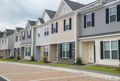 Raleigh Townhouse For Sale: 8862 Commons Townes Drive #53