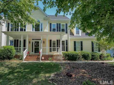 Cary Single Family Home Contingent: 205 Creek Park Drive