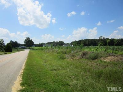 Johnston County Residential Lots & Land For Sale: 7.669 Acres Nc 231 Highway