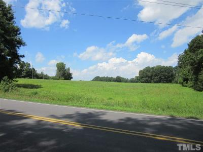 Residential Lots & Land Pending: 14.457 Acres Nc 231 Highway