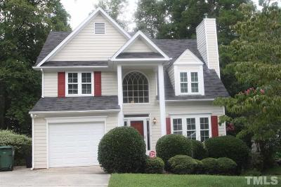 Cary NC Single Family Home For Sale: $309,000